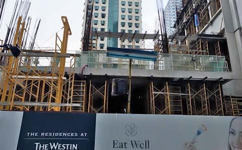 ウェスティンマニラ建設状況